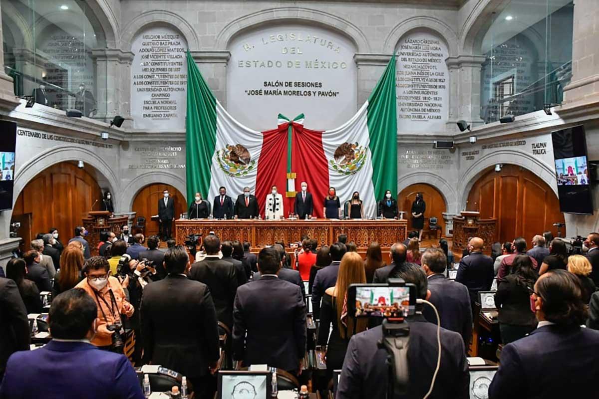 Inicia la LXI Legislatura del Edoméx periodo 2021-2024, llaman a construir consensos