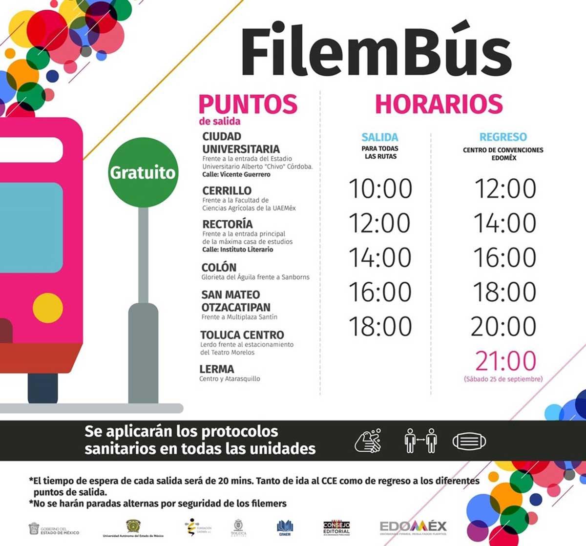 Ofrece Feria Internacional del Libro Estado de México el FILEMBÚS
