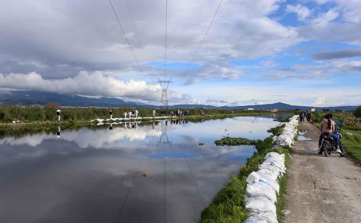 Conagua alerta por posible desbordamiento del Rio Lerma