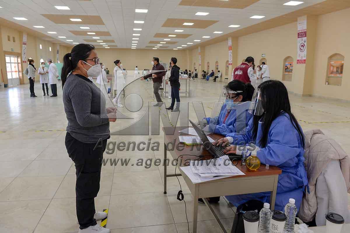 Conoce la nueva sede para la vacunación a mayores de 18 años en Toluca