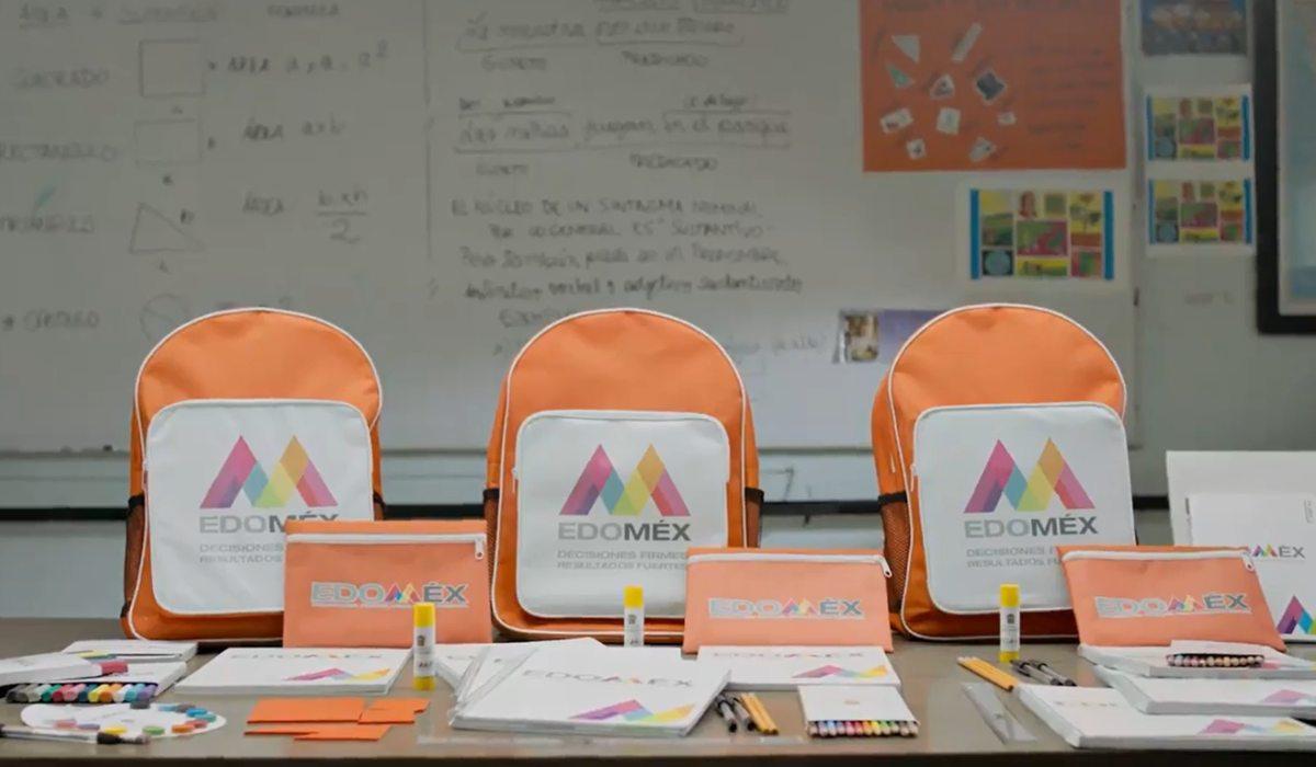 Conoce el contenido de la mochila de útiles escolares del Edomex para alumnos de educación básica