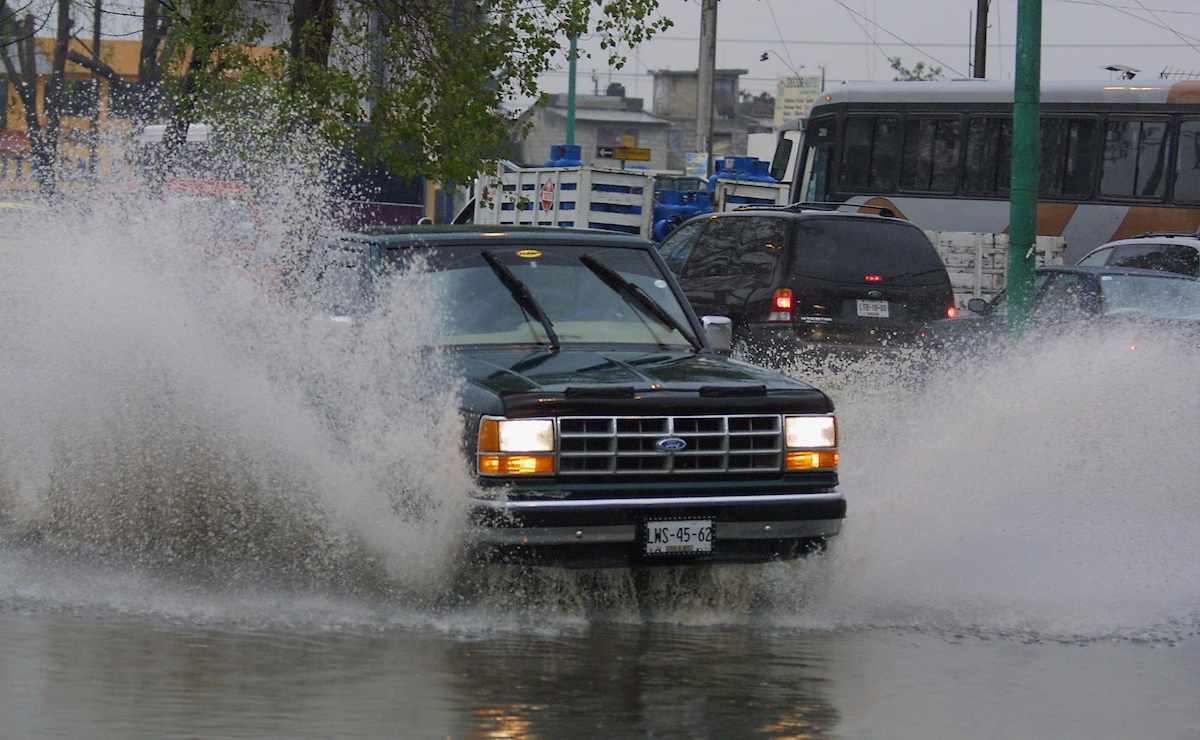 Continuarán las intensas lluvias en el Edomex
