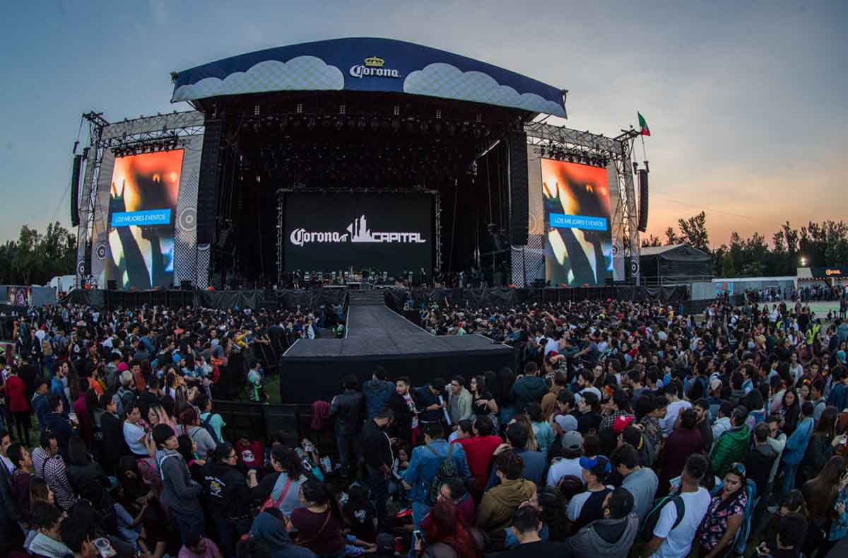 Corona Capital 2021 primer concierto masivo desde que inicio la pandemia