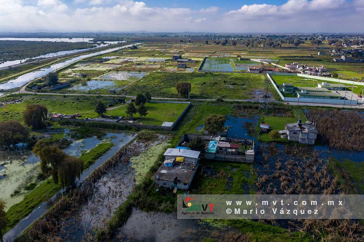 Habitantes de San Mateo y Metepec previenen desbordamiento del Río Lerma