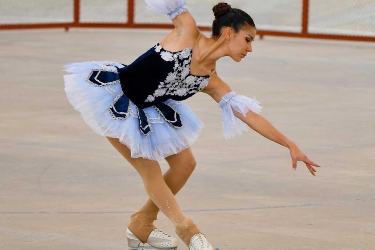 Brenda Salazar llega al campeonato mundial de patinaje artístico sobre ruedas