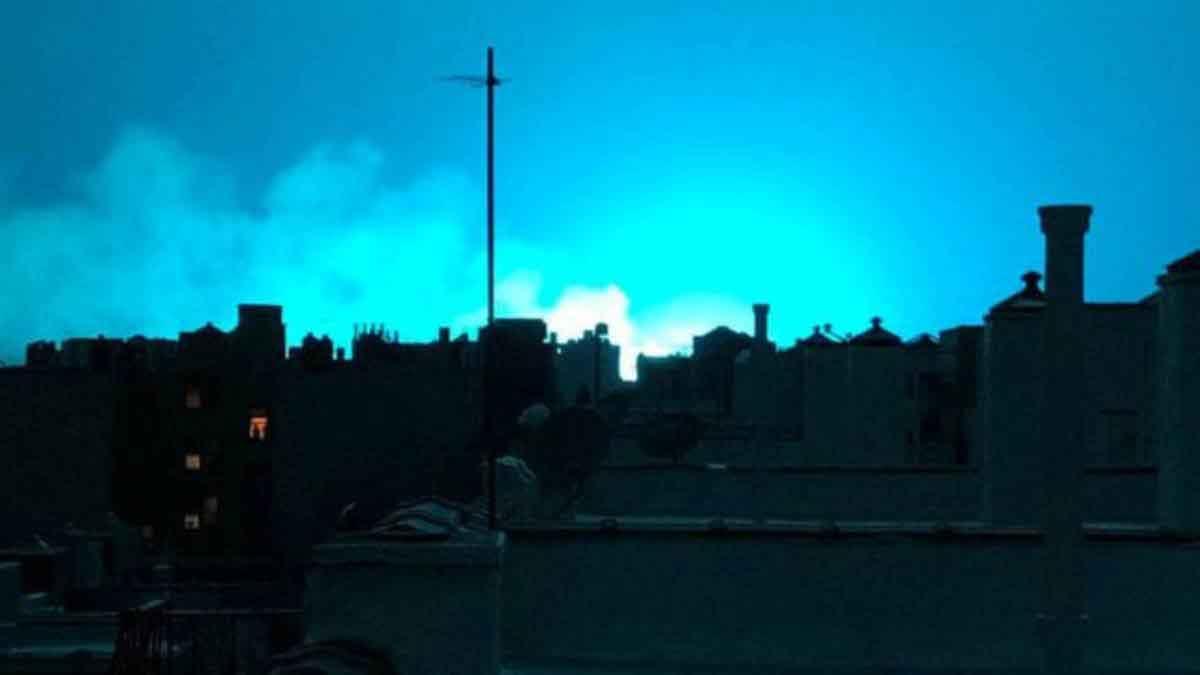 ¿Por qué se vieron luces durante el temblor de ayer?