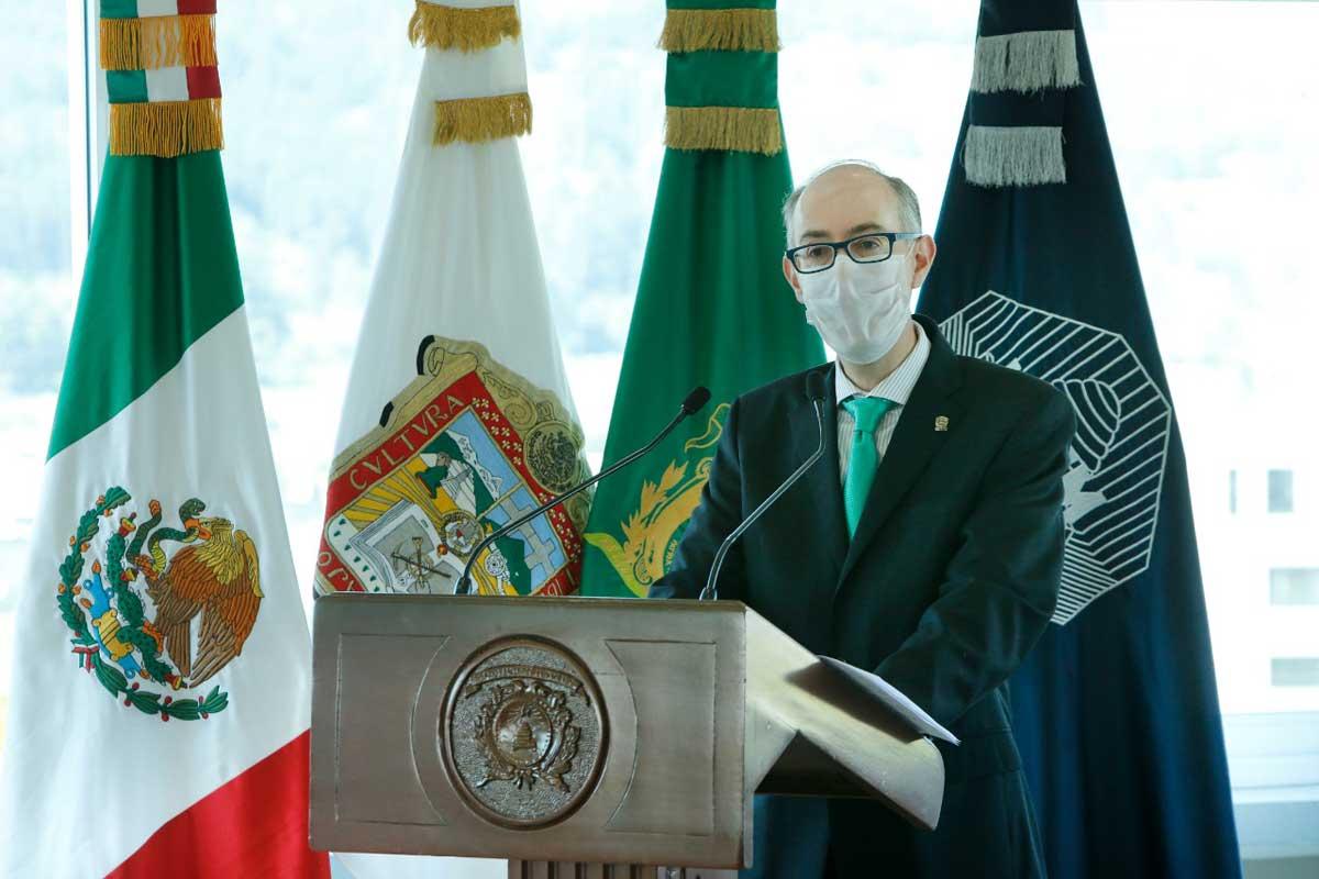 UAEM dedicada a construir relaciones laborales armónicas: Carlos Eduardo Barrera