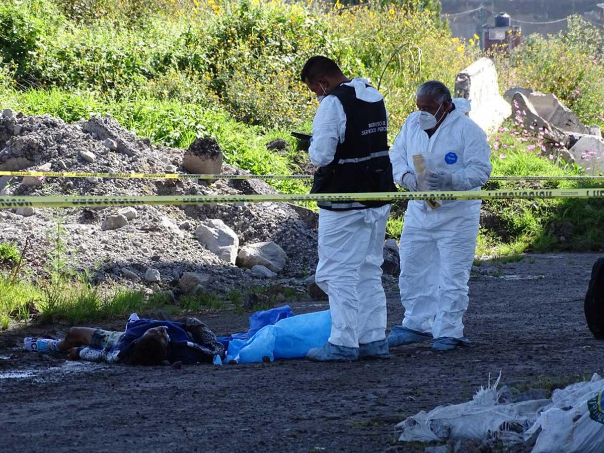 Lo matan a golpes junto al Tren Interurbano en San Mateo Atenco