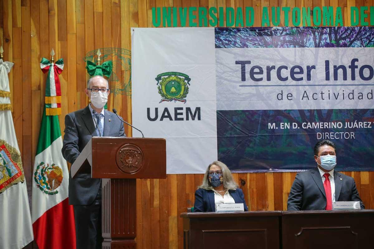 Incluso bajo emergencia sanitaria, UAEM garantiza una educación de alta calidad: CEBD
