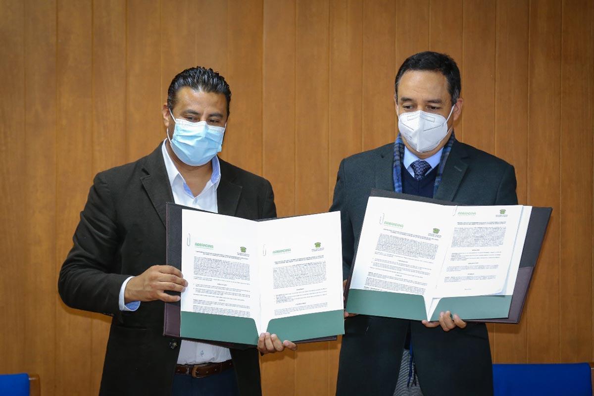 UAEM estableció lazos de colaboración con Fundación Universitaria del Área Andina