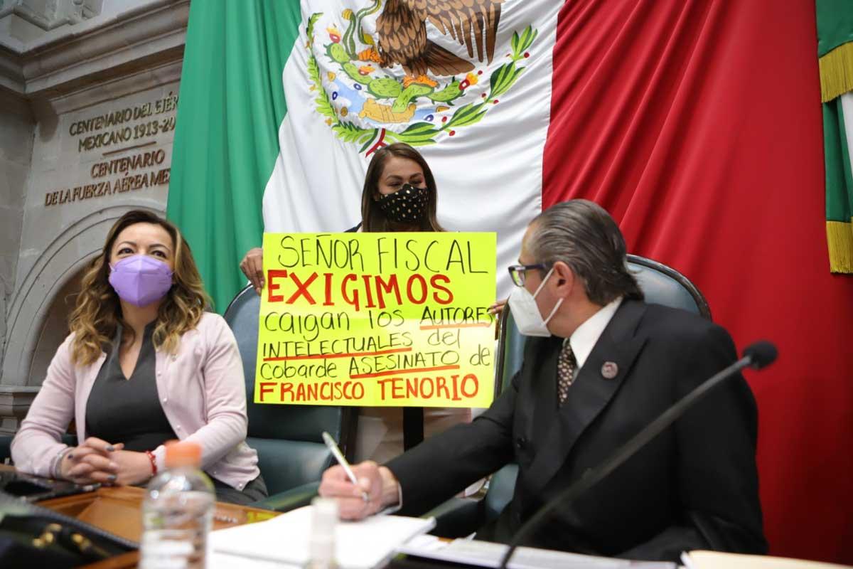 Comparece Fiscal de Justicia, Alejandro Gómez Sánchez, ante diputados