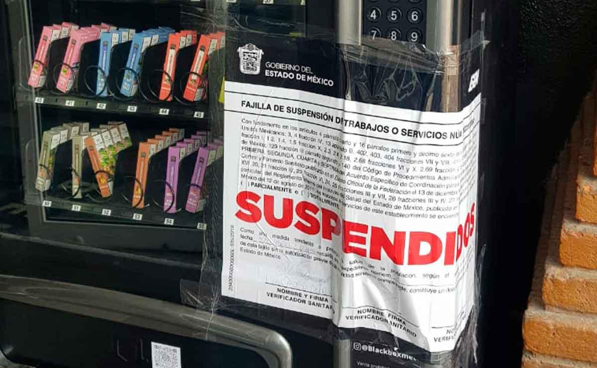Coprisem suspende maquinas expendedoras de cigarros