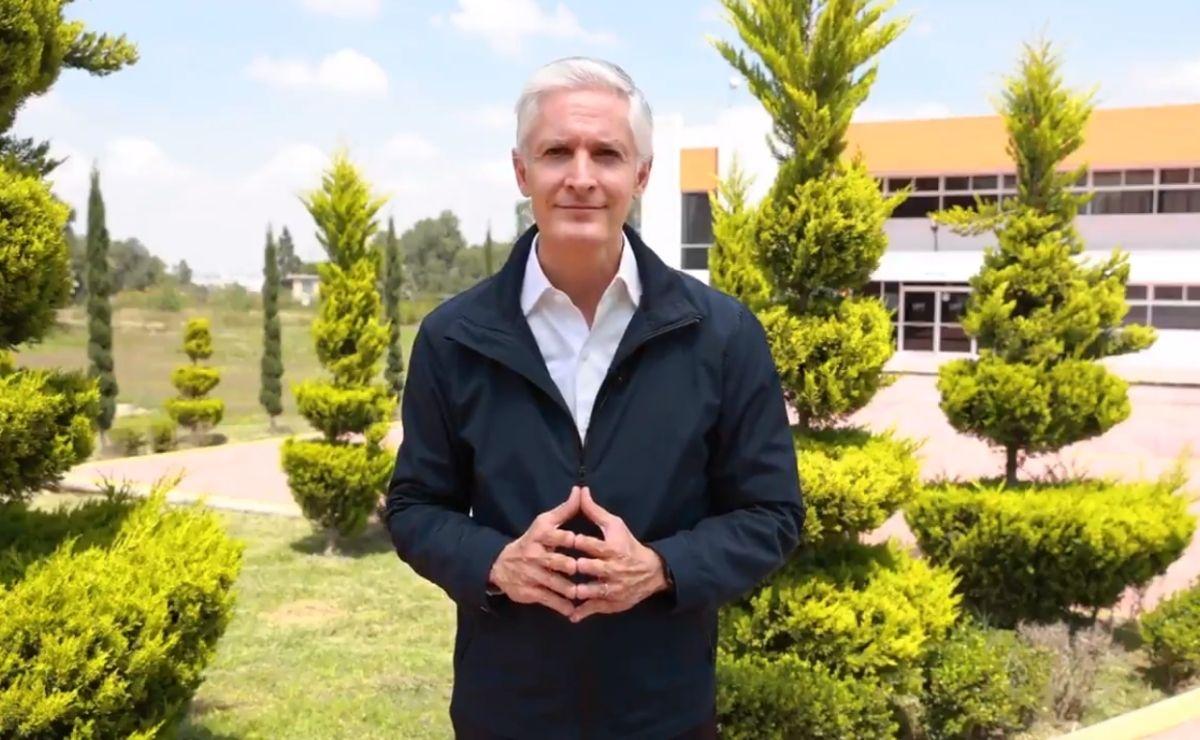 Edomex siguen en semáforo amarillo de acuerdo al gobernador Alfredo del Mazo