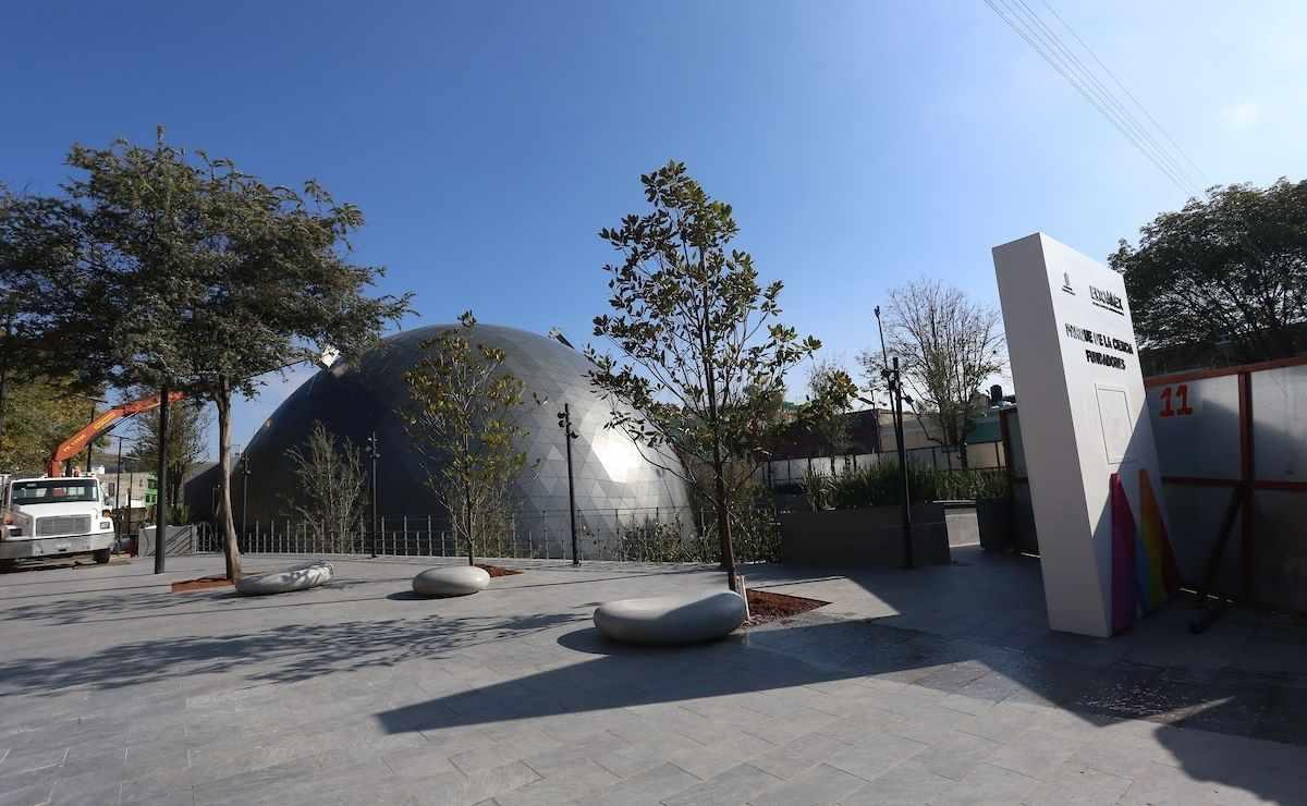 Inauguración del nuevo Parque de las Ciencias en Toluca